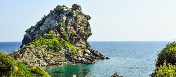 Klippe ved Skopelos