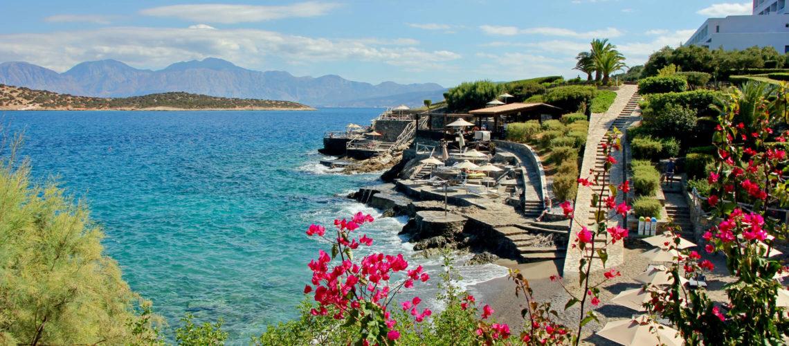 Klippekyst på Kreta